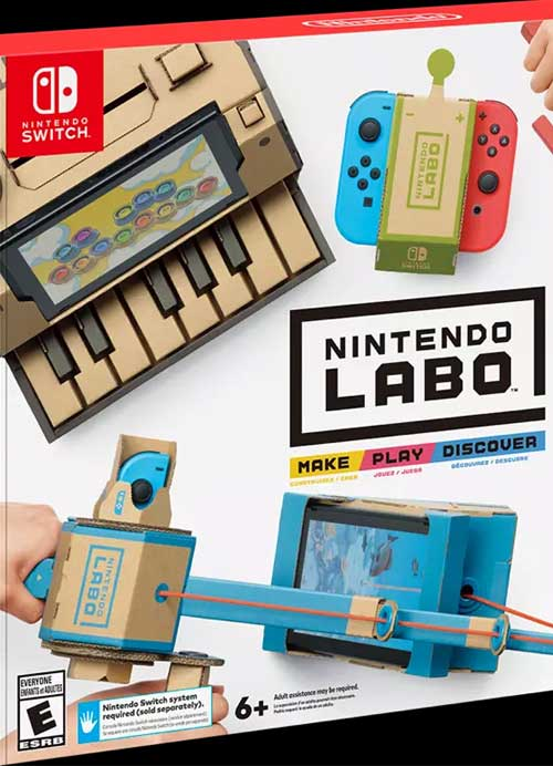 Nintendo Labo: Make, Play, Discover!