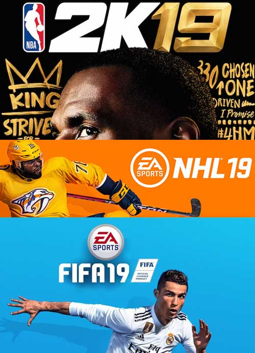 NBA 2K19, NHL 19, FIFA 19 - September Sports Spectacular!